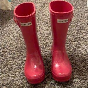 girls hunter rainboots